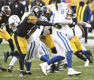 Avery Williamson, Philip Rivers, Steelers vs Colts