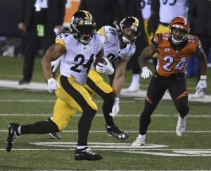 Benny Snell, Steelers vs Bengals