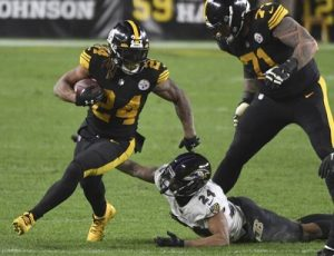 Benny Snell, Steelers vs Ravens