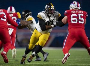 Cam Heyward, Ike Boettger, vs Bills