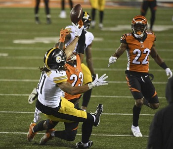 Chase Claypool, Steelers vs Bengals