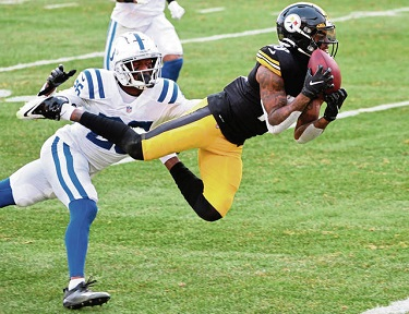Diontae Johnson, Steelers vs Colts