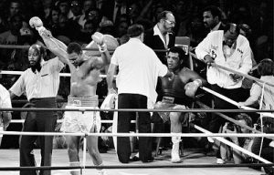 Muhammad Ali, Larry Holmes, Las Vegas 1980