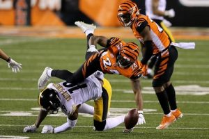 Von Bell, JuJu Smith-Schuster, Steelers vs Bengals