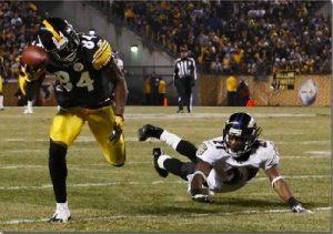 Antonio Brown, Steelers vs Ravens
