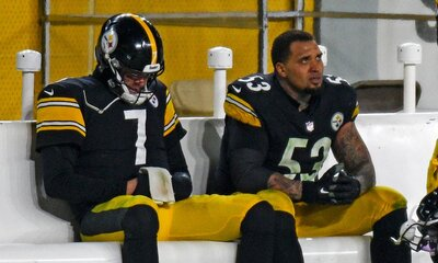 Ben Roethisberger, Maurkice Pouncey, Steelers vs Browns, Steelers loss browns wild card