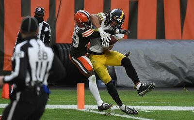 Chase Claypool, Steelers vs Browns