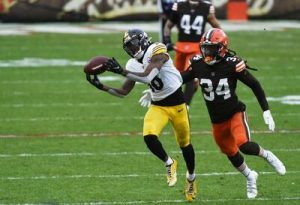 Diontae Johnson, Robert Jackson, Steelers vs Browns