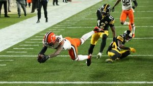 Jarvis Landry, Steelers vs Browns, Steelers Browns wild card