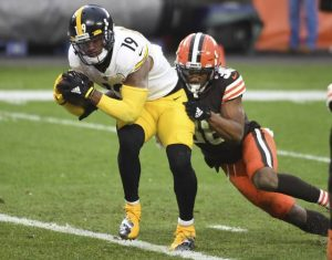 JuJu Smith-Schuster, Steelers vs Browns