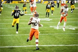 Nick Chubb, Cassius Marsh, Steelers vs Browns