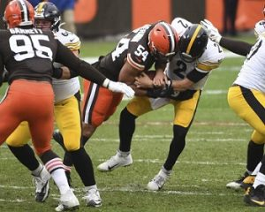 Oliver Veron, Mason Rudolph, Steelers vs Browns
