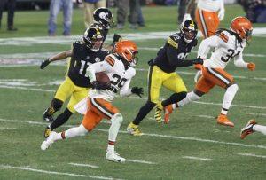 Sheldrick Redwine, Chase Claypool, Eric Ebron, Steelers wild card Browns