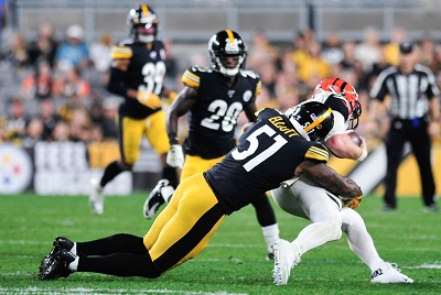 Jayrone Elliot, Steelers vs Bengals