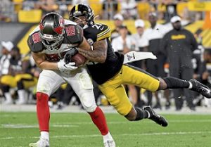 Marcus Allen, Steelers vs Buccaneers preseason