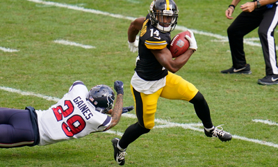 Ray-Ray McCloud, Steelers vs Texans