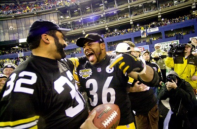 Franco Harris, Jerome Bettis, Three Rivers Stadium,