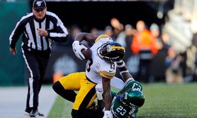 Arthur Maulet, James Washington, Steelers vs Jets 2019