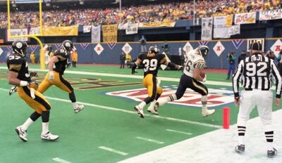 Alfred Pupunu, Steelers vs Chargers, 1994 AFC Championship Game