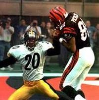 Carl Pickens, Dwayne Washington, Steelers vs Bengals