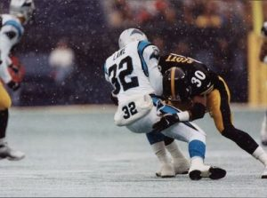 Chad Scott, Steelers vs Panthers, Fred Lane
