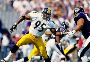 Greg Lloyd, Steelers vs Ravens,