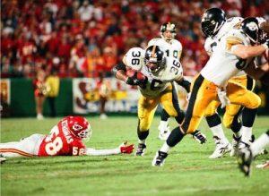 Jerome Bettis, Steelers vs Chiefs