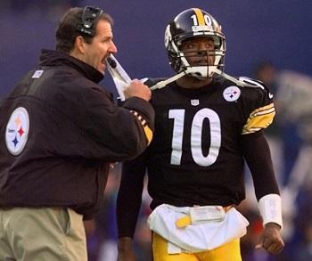 Bill Cowher, Kordell Stewart, Steelers vs Broncos