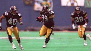 Levon Kirkland, Steelers vs Bills, 1995 AFC Divisional Playoffs, Myron Bell, Darren Perry