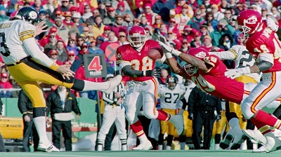 Mark Royals, Keith Cash, Steelers vs Chiefs, Steelers Chiefs 1993 AFC Wild Card