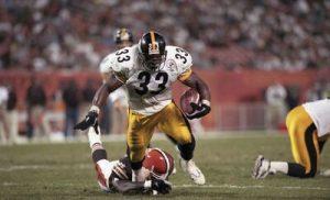 Richard Huntley, Steelers vs Browns