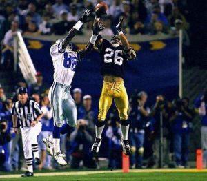 Rod Woodson, Michael Irvin, Steelers vs Cowboys, Super Bowl XXX