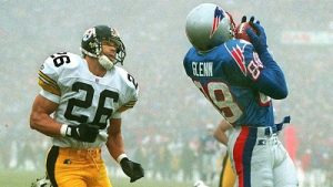Rod Woodson, Terry Glenn, Steelers vs Patriots, Fog Bowl II