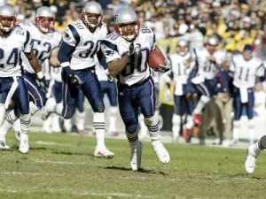Troy Brown, Steelers vs Patriots, 2001 AFC Championship Game