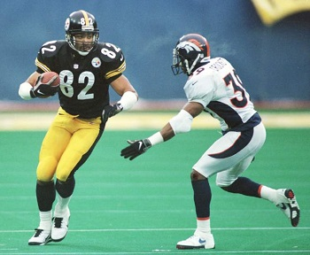 Yancey Thigpen, Ray Crockett, Steelers vs Broncos