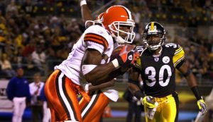 Andre Davis, Chad Scott, Steelers vs Browns 2003