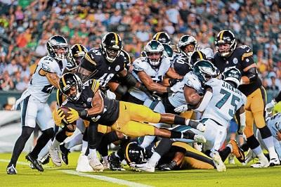 Anthony McFarland, Steelers vs Eagles preseason