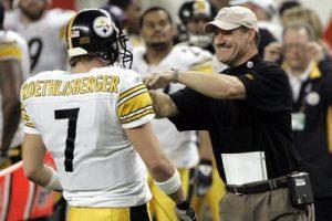 Ben Roethlisberger, Bill Cowher, Super Bowl XL