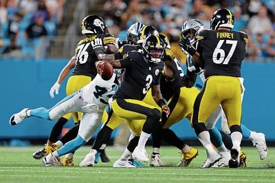 Dwayne Haskins, Steelers vs Panthers Preseason