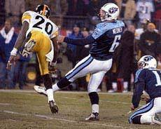Dwyane Washington, Joe Nedney, Steelers vs Titans