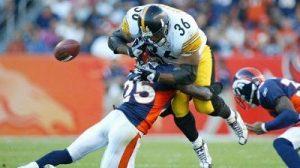 Jerome Bettis, Nick Ferguson, Steelers vs Broncos