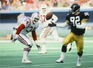Jerry Olsavsky, Steelers vs Patriots,