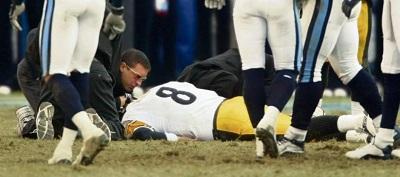 Tommy Maddox, Steelers vs Titans
