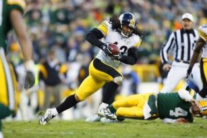 Troy Polamalu, Brett Favre, Steelers vs Packers