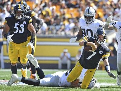 Ben Roethlisberger, Steelers vs Raiders