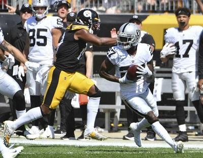 Trayvon Mullen Jr. , Steelers vs Raiders