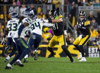 Ben Roethlisberger, Zach Gentry, Steelers vs. Seahawks 2021