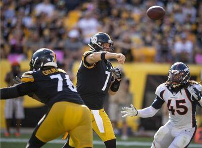 Ben Roethlisberger, Steelers vs Broncos