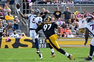 Cam Heyward, Teddy Bridgewater, Steelers vs Broncos