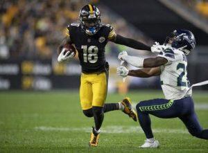 Diontae Johnson, Steelers vs Seahawks